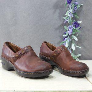 Great Northwest Brown Mia Slip-on Clogs SZ 8
